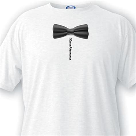 bow tie groomsman t shirt cake weddings
