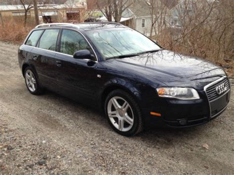 2007 audi a4 2 0t avant quattro wagon 4d pictures and find used 2007 audi a4 quattro avant wagon 4 door 2 0l turbo 6 speed in providence rhode island