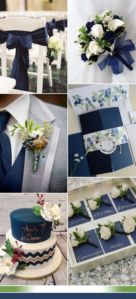 The Best Shades of Blue Wedding Color Ideas for 2017 in