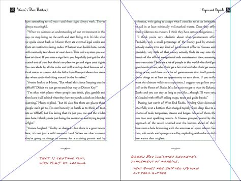 novel page layout book design basics part 1 margins and leading