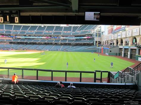 what is a section 13 minute maid park section 156 houston astros