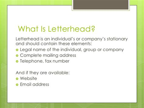 what should business letterhead look like designing a creative letterhead in word 2010