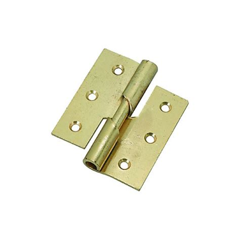 wickes right hand rising hinge 76mm 2 pack wickes co uk