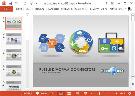 free flash animation templates for ppt animated puzzle diagrams powerpoint template
