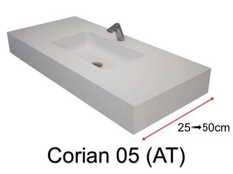 corian becken unterbau waschbecken waschbecken largeur 90 corian waschbecken 90 x 35 cm