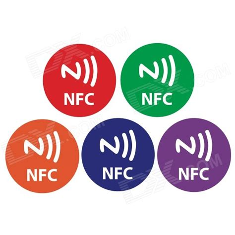 Stiker Programmable Nfc Tag Sticker Smartphone nfc tag stickers custom sticker