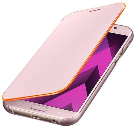 Tempered Glass Color Samsung A720 A7 2017 Cover Warna 13twd souq samsung galaxy a7 2017 a720 neon flip cover pink uae
