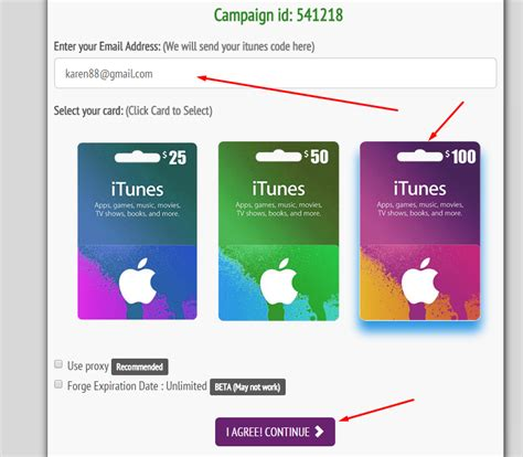 Free Itunes Gift Card Generator No Human Verification - free itunes gift card no human verification