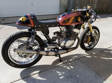 Suzuki Titan 500 by Suzuki T500 Cafe Racer By Motorcycle Mania Chicago Bikebound