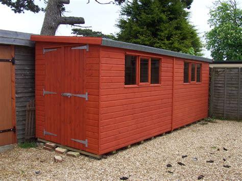 garden shed centre berkshire pent shed range