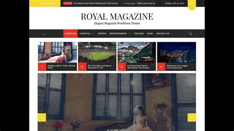 newspaper theme customization how to create magazine newspaper website in wordpress