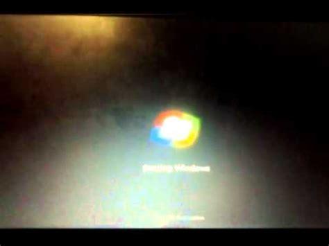 windows 7 startup black screen freezes problem