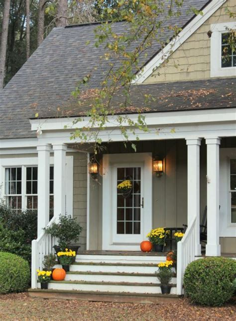 house with front porch talk of the house front steps for fall porches and