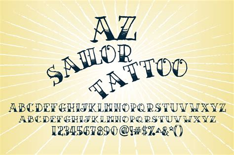 sailor tattoo font az sailor artist of design