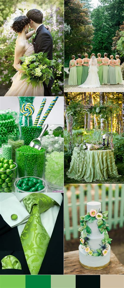 green wedding colors calgary wedding top 10 wedding colors for 2016