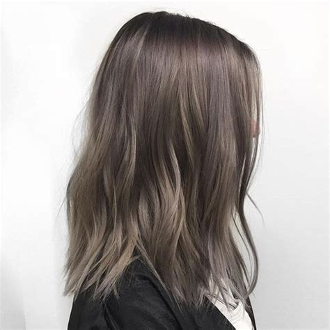 cool ash brown hair dye 35 smoky and sophisticated ash brown hair color looks