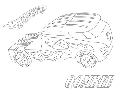 brandon team hot wheels pages coloring pages