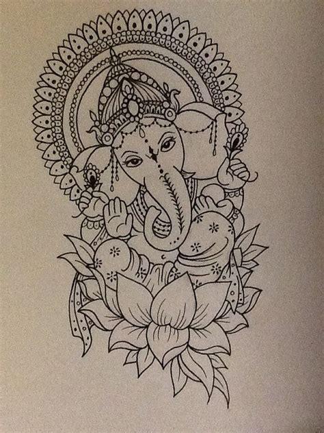 ganesha tattoo klein best 25 ganesha tattoo ideas on pinterest ganesha