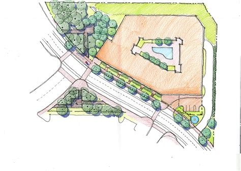 sketch plans site plan archstone georgetown road friends of