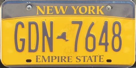 Vanity Plates New York by Click On Plates For Larger Image