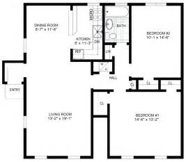 blueprint for homes blank house floor plan template meze blog