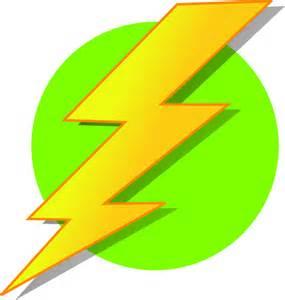 Lighting Clipart Lightning Green Circle Clip At Clker Vector Clip