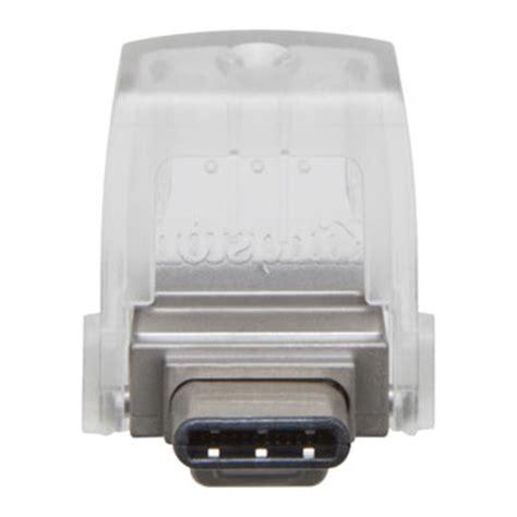 Kingston Datatraveler Micro 31 Usb Dtmc316gb 16gb Silver kingston datatraveler microduo 3c usb type c usb 3 1
