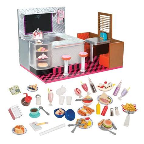 Set Og our generation 174 retro diner accessory set target
