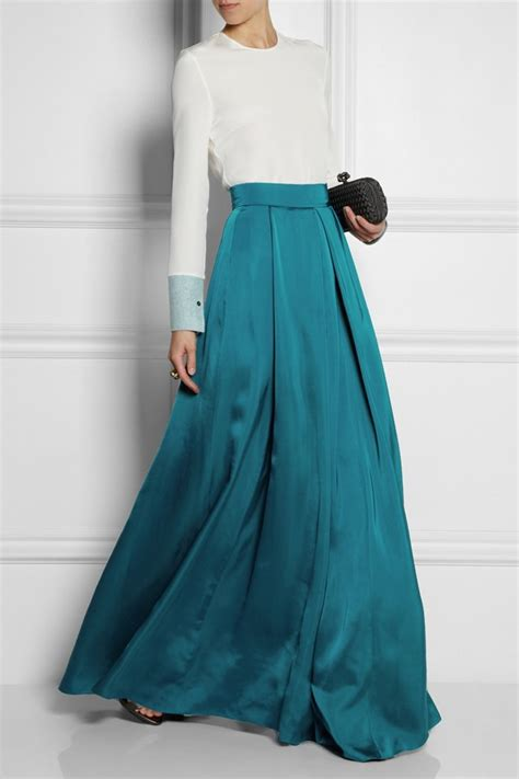 Silk Skirt silk skirt fashion skirts