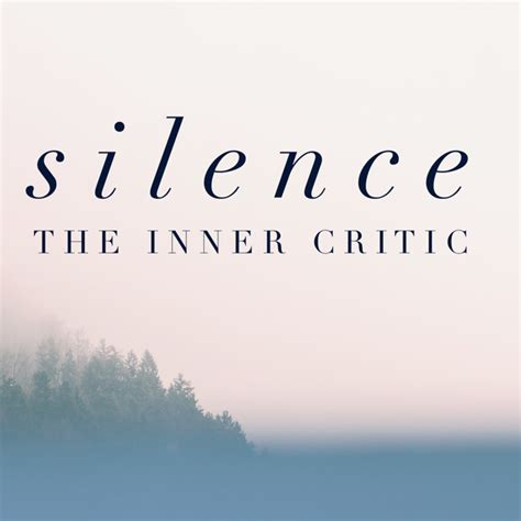an inner silence the how to silence the inner critic rhona clews