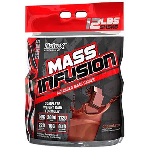 Nutrex Mass Infusion 12 Lb Whey Protein Gainer mass infusion nutrex 12 libras tienda de suplementos