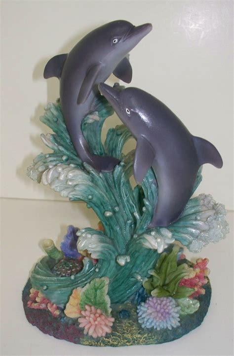 Decorative Purposes by Frontdoorfinds Dolphin Figurine 5 5 Quot X 7 5 Quot For