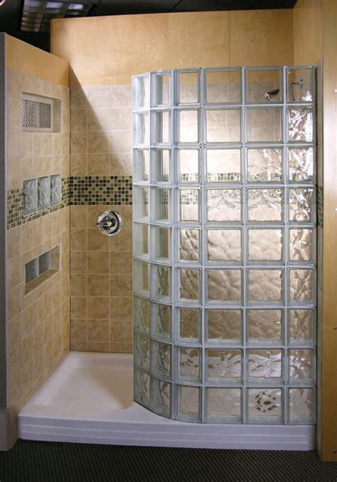 duschwand aus glasbausteinen glasbausteine f 252 r dusche 44 prima bilder archzine net