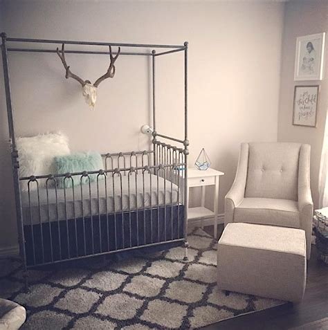 Convertible Canopy Crib by Canopy Crib Pewter
