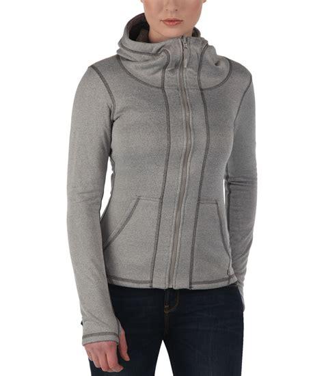 bench hoodie bench convertor reversible zip thru hoodie in gray lyst