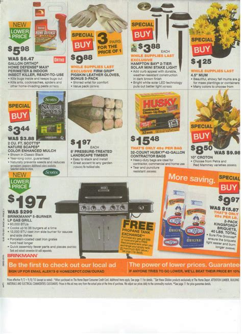 home depot weekly ad hello ross