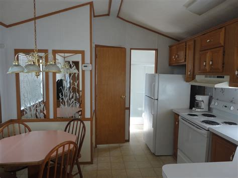 single wide 2 bedroom trailer vacation rentals pirateland family cing resort