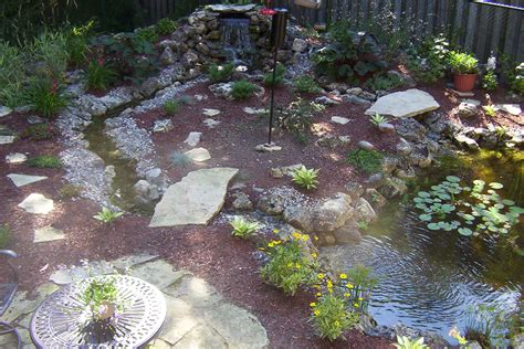 Backyard Pond Images by 5 Most Inspiring Backyard Ponds Sweeney Feeders