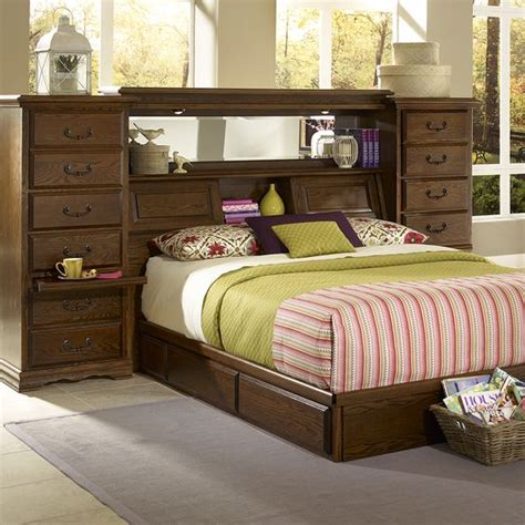 the mid wall by furniture traditions has plenty of storage