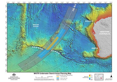 search map mh370 search area
