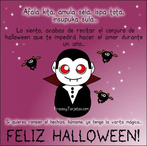 imagenes halloween con mensajes tarjeta de halloween dracula y murcielago