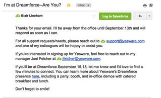 out of office template email 14 out of office message exles that are refreshingly