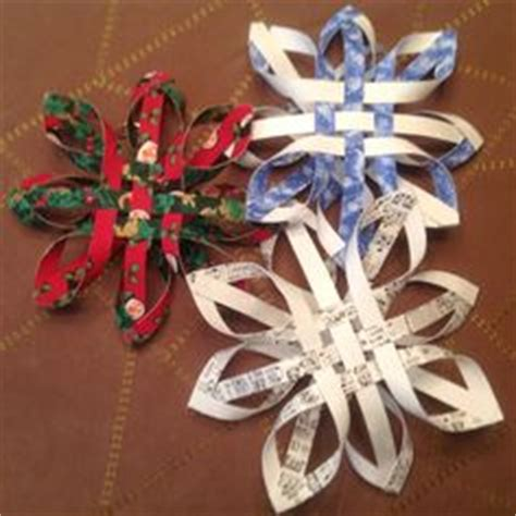 pattern for woven snowflake ornament woven snowflakes on pinterest