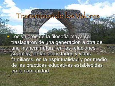 imagenes de valores mayas presentacion mayas