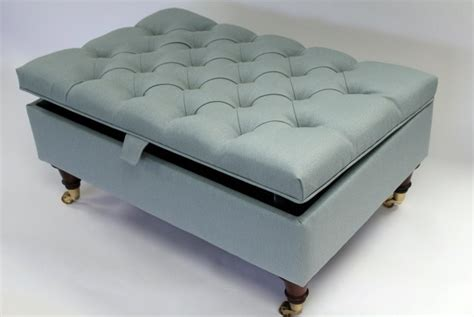 Blue Ottoman Coffee Table Coffee Table Upholstered Ottoman Storage Coffee Table Upholstered Coffee Table Storage Bench