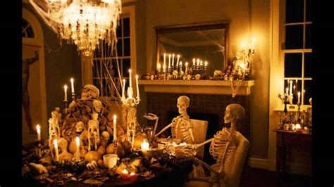 Scary Outdoor Halloween Decorations Fabulous Halloween Party Themes Ideas Youtube