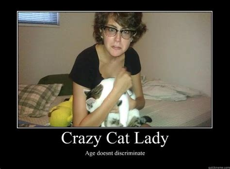 Crazy Lady Meme - crazy cat lady meme