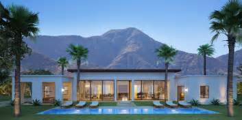 Ranch House Plans Open Floor Plan monte sereno luxury homes in south palm springs palm