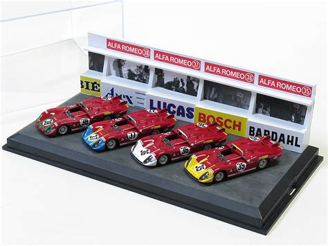 Home Design Expo mg model alfa romeo 33 3 autodelta le mans 1970 set 4