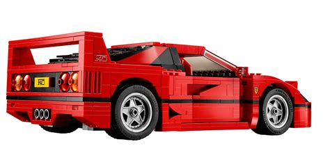 Lego Ferrari F40 by Lego Ferrari F40 The Awesomer